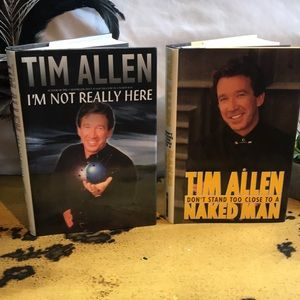 Two Tim Allen Biographical Books